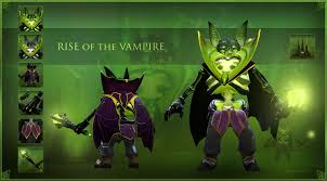 dota 2 pugna rise of the vampire set by crowntail youtube