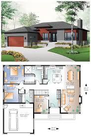 Simple Modern House Plans 121 Best Houses Images On Pinterest Architecture Small Houses