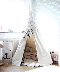 A new Tipi Tent in the kidsroom