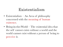 existentialism is a humanism essay