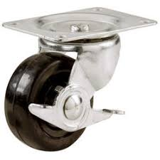 swivel wheel caster furniture locking plate roller trolley home office sofa chair hold 1 5 inch 2 hardware