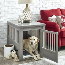 furniture style dog crates. Designer Dog Crates Crate Feel Interior Eyesore Anymore Unique Styles And Smart Positioning Make Them Effective Complement Of Your Home Furniture Style