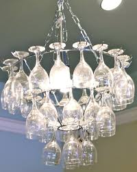 wine glass chandeliers wine glass chandelier pottery barn wine glass light fixture uk