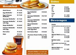 Breakfast Menu Template Awesome New Mcdonalds Breakfast Menu Prices World Of Printable And Chart