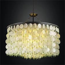 large capiz chandelier island paradise 587hd38 30sp 3p