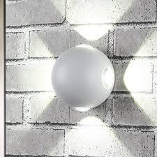 Đèn Led Tròn Gắn Tường 12w Chống Thấm Nước Thiết Kế Hiện Đại tại Nước ngoài