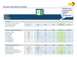 Financial Modeling Excel Templates Business Case Template