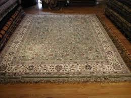 7 5 x 10 0 c and blue heriz geometric persian rug