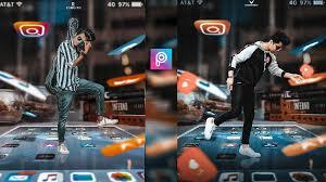 3d insram viral photo editing background