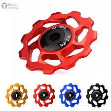 <b>1PC</b> Bike <b>11T Aluminum</b> Sealed Bearing <b>Jockey</b> Wheel Rear ...