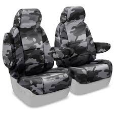 coverking front bucket seat cover kit neosupreme traditional urban camo