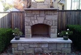 diy outdoor fireplace kit outdoor fireplace kits fremont diy outdoor fireplace kit