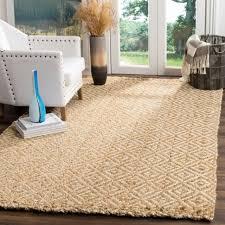 safavieh natural fiber contemporary handmade ivory natural jute rug 9 x 12