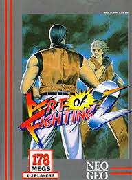 art of fighting 2 cover box