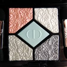 dior glowing gardens spring 2016 5 couleurs eyeshadow palette in blue gardens 2