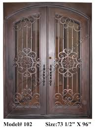 wrought iron front doorsWrought iron Entry Doors Doors with iron works Ornamental iron