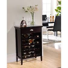 buffet with wine rack. Modren With Kings Brand Dark Cherry Finish Wood Buffet Wine Rack Cabinet With Drawer  New Throughout With I