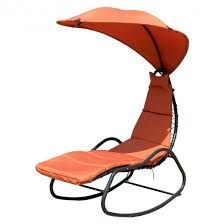 patio chaise lounge swing with wide