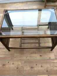 cane coffee table glass top cane coffee table cane coffee table gumtree