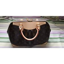 non leather handbag louis vuitton brown