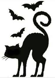 halloween black cat silhouette. Brilliant Halloween Halloween Pumpkin Stencils And Free Carving Patterns That Are A  Must See For All Cat Lovers In Black Silhouette N