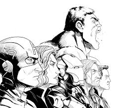 Small Picture Trend The Avengers Coloring Pages 96 For Your Coloring Pages