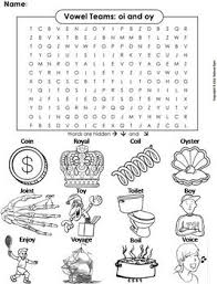 Worksheet will open in a new window. This Word Search On The Oi And Oy Vowel Team Also Doubles As A Coloring Sheet The Solution To The Puzzle Is Included Vocabul Vowel Team Phonics Phonics Words