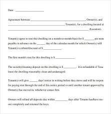 Another Word For Rent Basic Rental Agreement Word Document Template Pinterest Sample