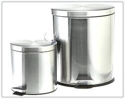 large size of yellow metal kitchen trash can steel garbage white bin black stainle