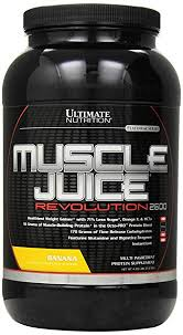 muscle juice revolution 2600 weight gain protein shake mix 71 less sugar 56g