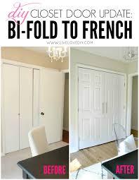 Updating Closet Doors Diy Closet Door Update How To Update Your Old Bi Fold Doors To