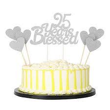 25th Anniversary Cake Amazoncom