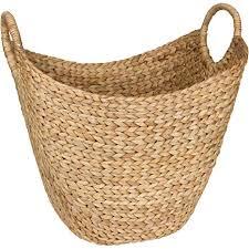 Amazon.com: Seagrass <b>Storage Basket</b> by West Dwelling - Large ...