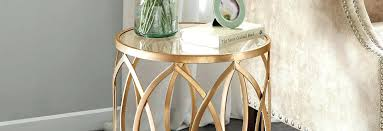 inch round decorator table large size of with glass top
