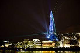 The Shard London Christmas Lights The Shard Renzo Piano Building Workshop Architects