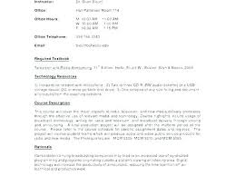 Syllabus Template High School Simple Syllabus Template
