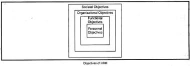 essay on human resource management hrm  objectives of hrm