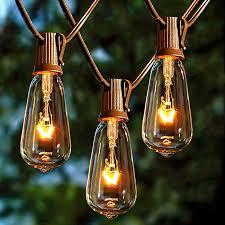 Edison Bulb Patio String Lights Edison Bulb Garden String Lights Pogot Bietthunghiduong Co
