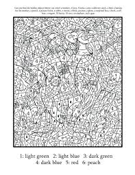 Color By Number Coloring Pages For Adults Advanced Color By Number ...