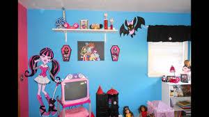 Monster High Bedroom Decorations Monster High Bedroom Youtube