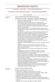 Medical Assistant Resume Samples Visualcv Resume Samples Database