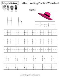 letter h writing practice worksheet kindergarten english print or use this kindergarten letter b writing practice worksheet online the letter b writing practice worksheet is great for kids
