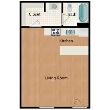 studio with plank