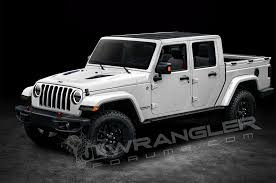 2018 jeep unlimited truck.  jeep 2018 jeep wrangler four door pickup truck rendering 07 carol ngo june 12  2017 to jeep unlimited 0