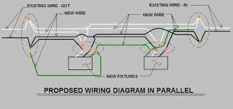 wiring recessed lights parallel diagram wiring diagram multiple recessed lights on two 3 way switches electrical diy