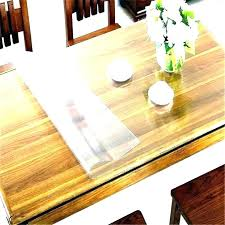 glass table top sticky pads full size of pers home depot round protector tops clear pad