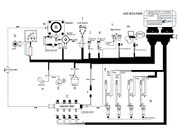 cyl ngv injecton system conversion kits for petrol car lgc wiring diagram for the lck isa2 system you can contact anytime for guidance if having questions during installation