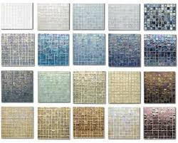Tessera Iridescent glass tile is simply astonishing - here's partial color  palette for your enjoyment.