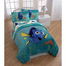 finding dory twin kids comforter sheet set 4 piece bed in a bag with bubble