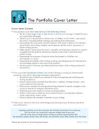 Cover Letter English Portfolio Format Manager Sample Art Example